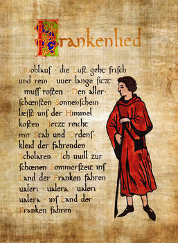 Frankenlied Strophe 1