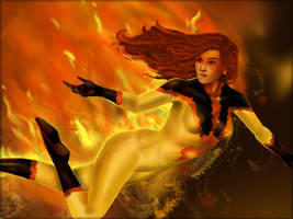 Firestar by Shafcrawler