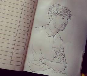 Domhnall Gleeson sketch