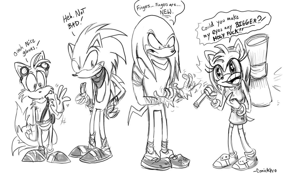 Sonic Boom Doodle By Comickpro On DeviantArt