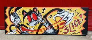 Skitzo Painting -Commission