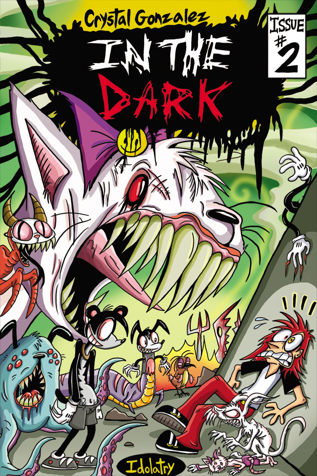 Inthedark Issue 2 Front Cover 2018 by Comickpro