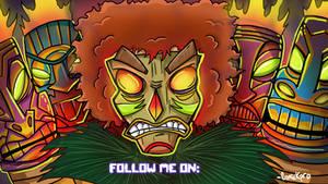 Commision: Evil Mask man End Card