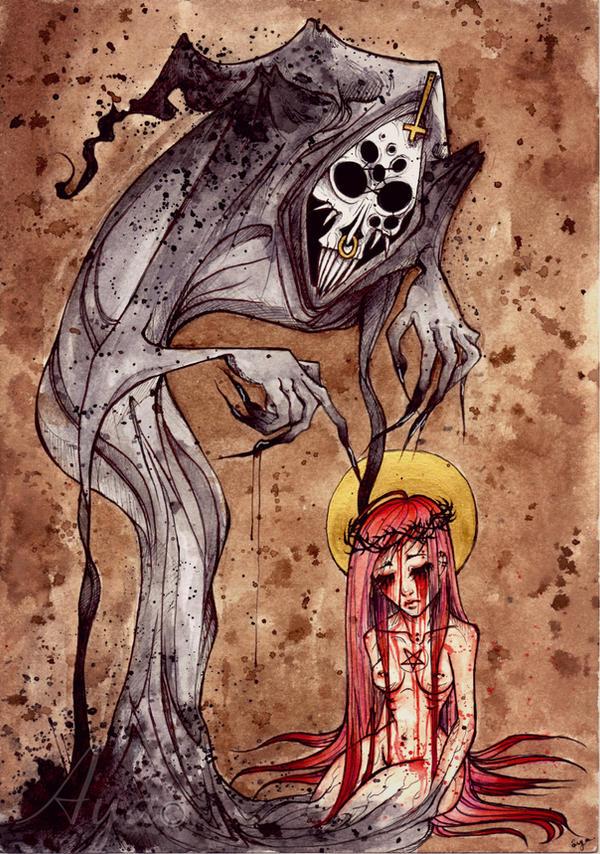 Death wants you. by Aya-Lunar