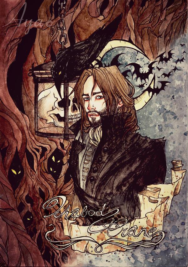 .Icabod Crane. by Aya-Lunar