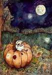Enjoying autumn! by Aya-Lunar