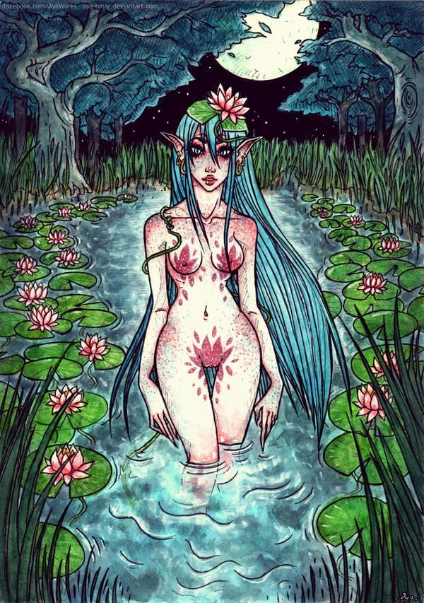 Mystical Evening by Aya-Lunar