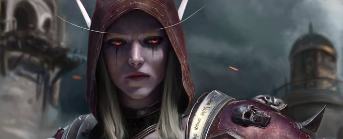 Sylvanas Battle for Azeroth portrait study