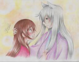 Nanami and Tomoe by YolimarCastv