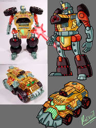 TRANSFORMERS ANIMATED BLASTCHARGE by KevinTrentin