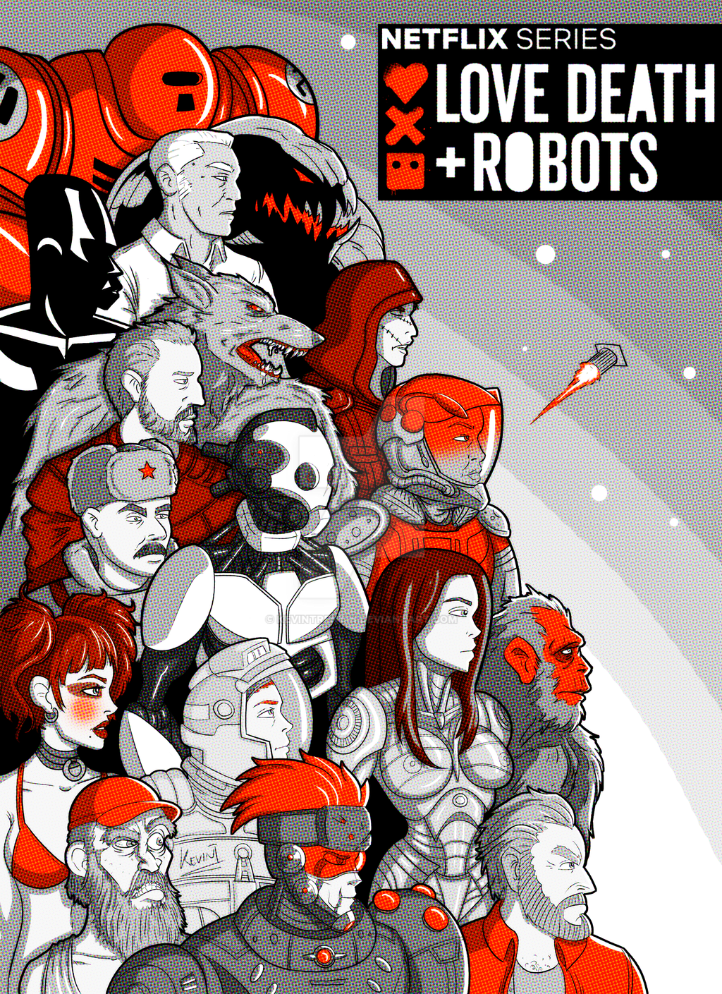 Love Death and Robots by KevinTrentin on DeviantArt