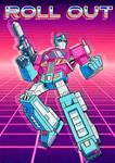 Optimus Prime Retro by KevinTrentin