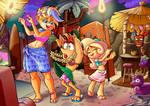 Crash, Coco and Tawna (comission)