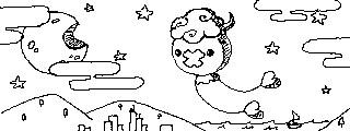 Drifloon Doodle by SpookyTanuki