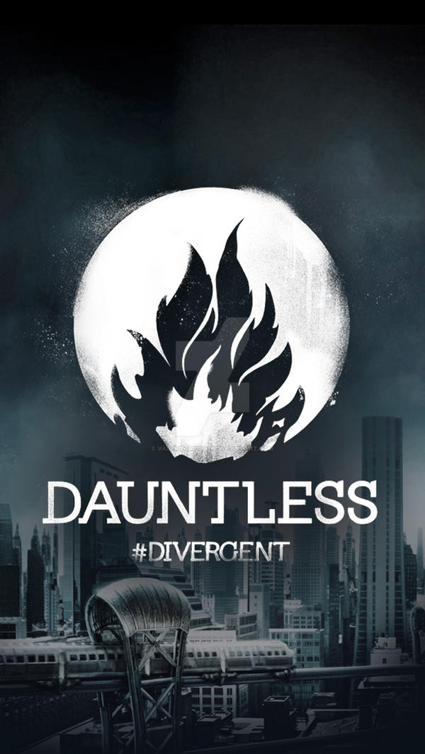 divergent factions iphone 5 wallpapers dauntless by