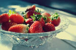 Strawberries + wishes