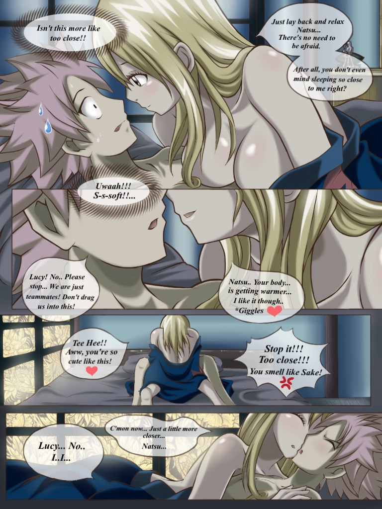 Nalu: Ova 4 Drunk Dilemma pg4 by Joshdinobarney