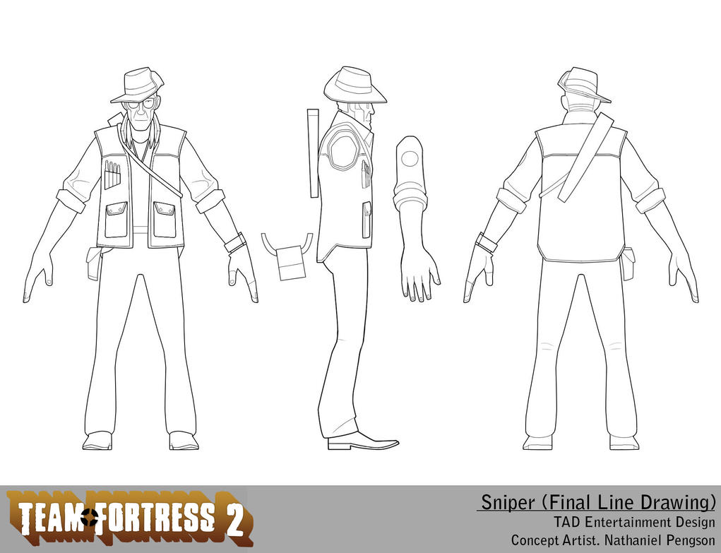 Team Fortress Coloring Pages