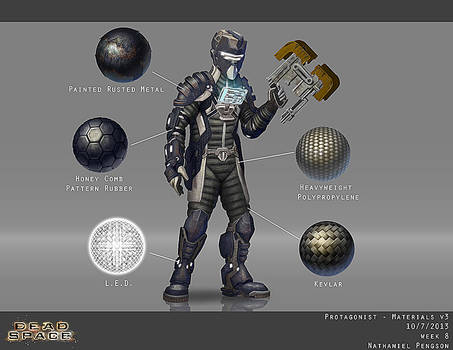 Dead Space Hero Character Concept