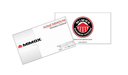 Business Card Mimox by 4ChaMZ