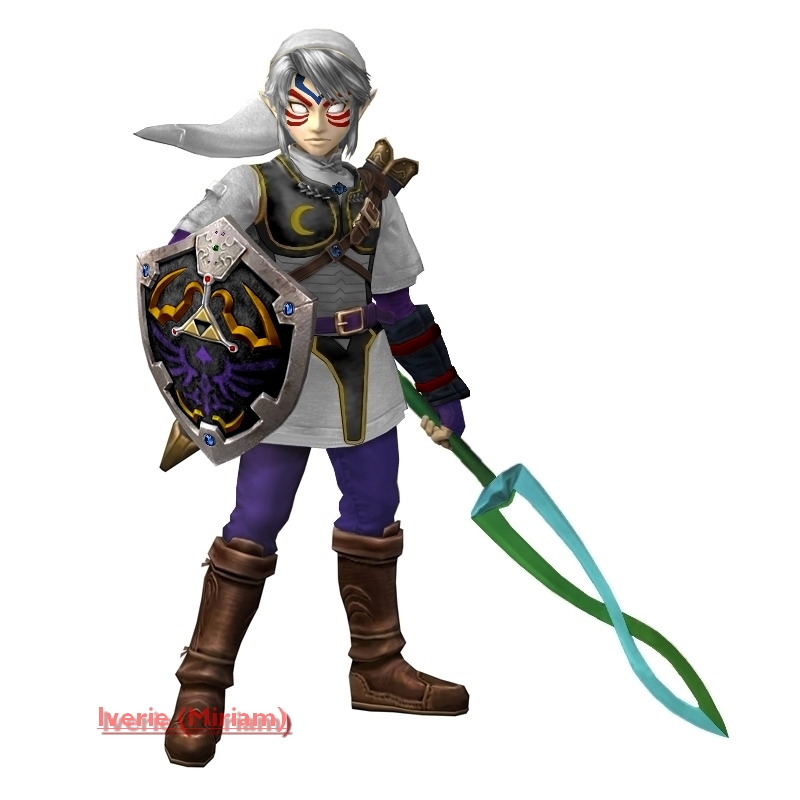Twilight Princess Deity Link by iverie