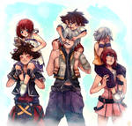Destiny Trio by Oa-chi