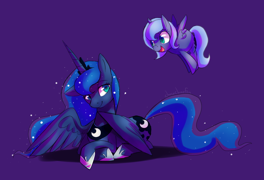 Luna and Woona by ChocoChaoFun