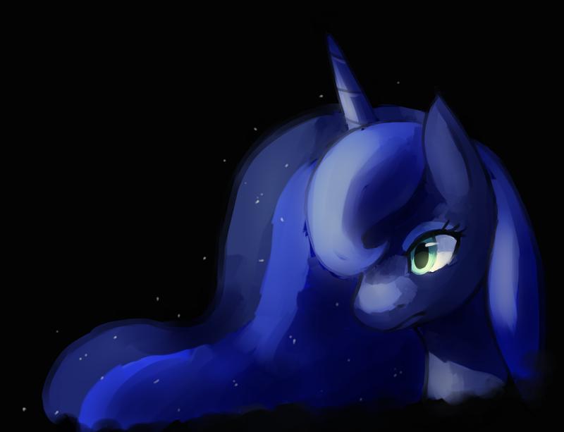 Luna Speedpaint by ChocoChaoFun
