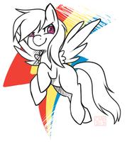 Rainbow Dash doodle by ChocoChaoFun