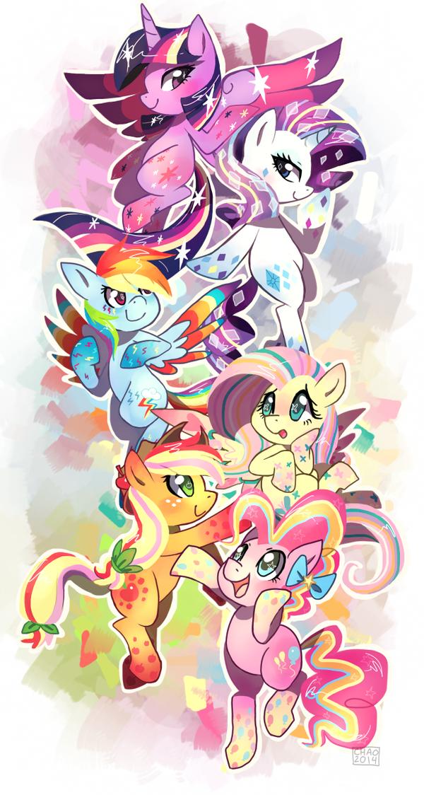 Rainbow Power!! by ChocoChaoFun
