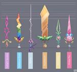 Mane Six Swords - Final