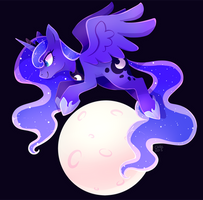 Moon Princess by ChocoChaoFun