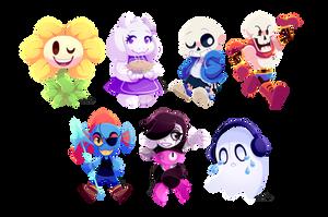 Monster Friends by ChocoChaoFun