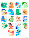 Poke Stickers 01
