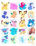 Poke Stickers 04