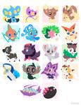 Poke Stickers 05