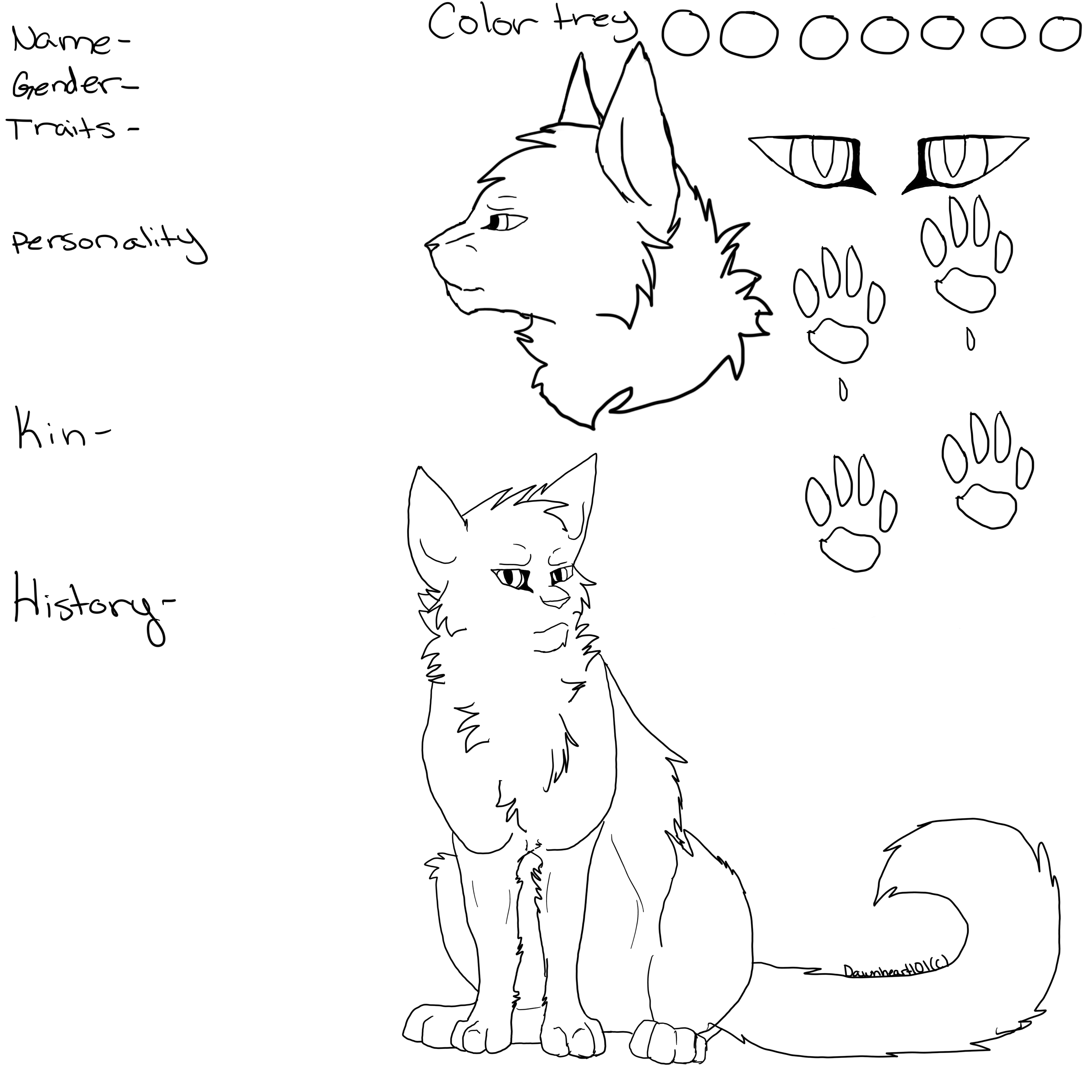 Stalking Warrior Cats Coloring Pages Coloring Pages