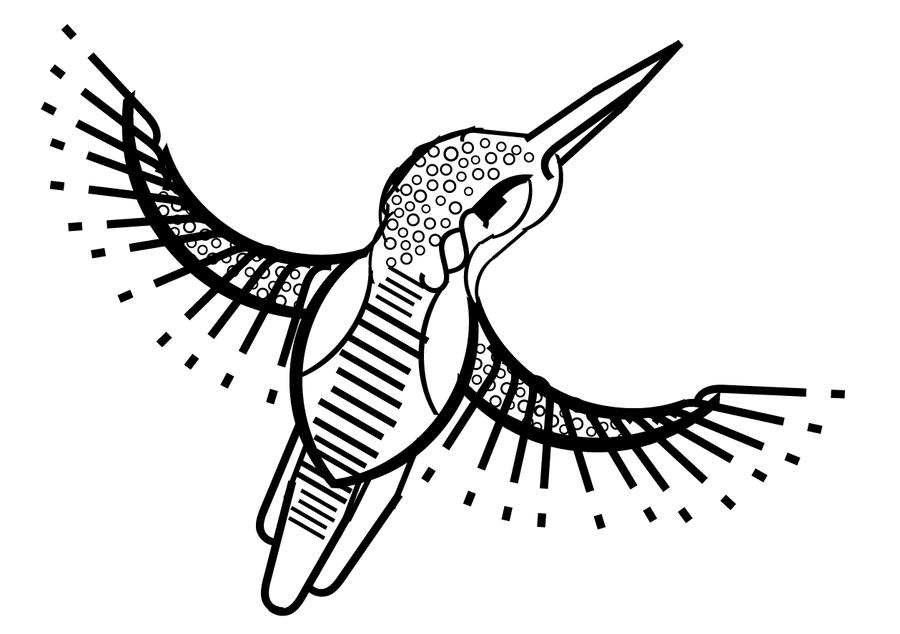 Typography Icebird by EleanorTopsie