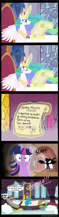 Discords first Good Deed COMIC