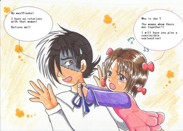 Funny Quotes About Lovers Quarrel : quarrel by Yang-Mei on DeviantArt