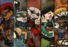 KND SteamPunk style