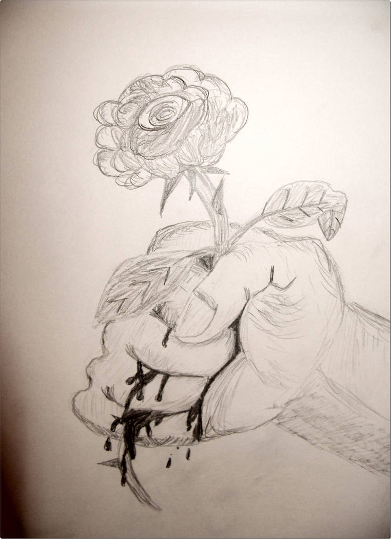 Bloody Rose by prfzombie