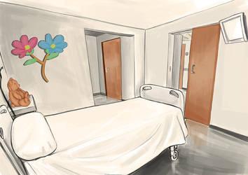 vistas habitacion hospital by yeneba