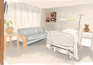 Vista Habitacion hospital by yeneba