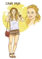 Claudia as adult. by yeneba
