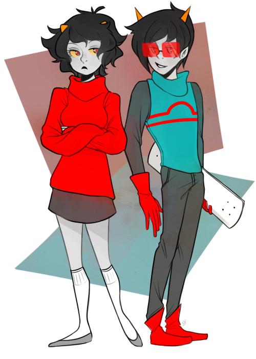 Genderbents by pastelgreen