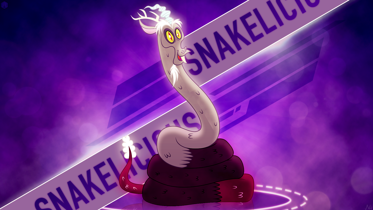 SnakeLicious - Wallpaper Ft. FillyNix-artz by AntylaVX