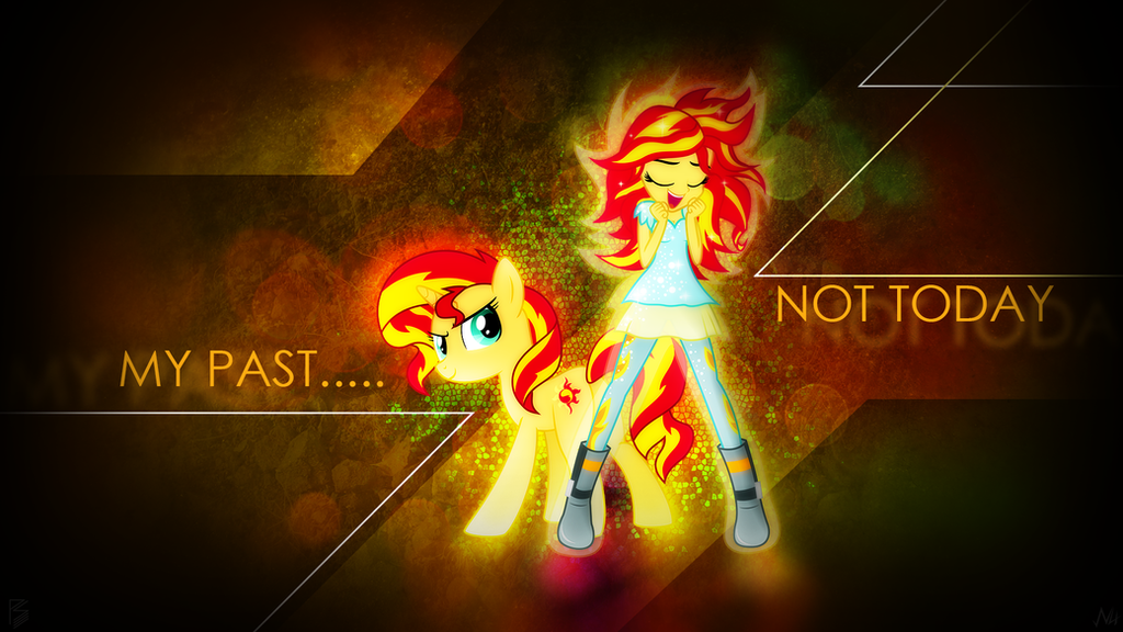 Wallpaper Collab - My Past, Not Today by AntylaVX