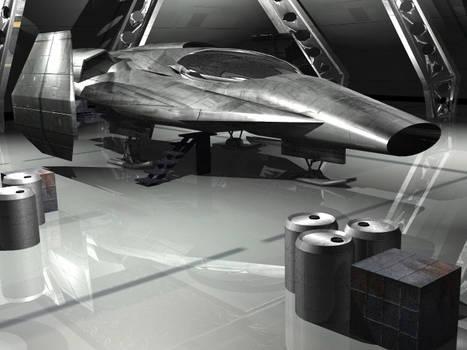 SQ1 Escape pod from Arcada