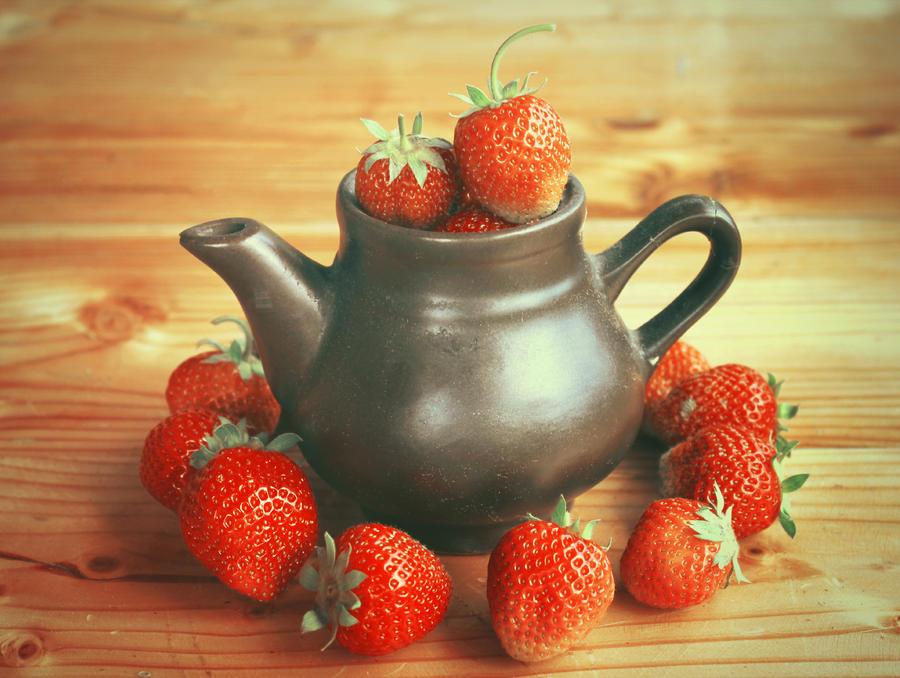 strawberry season by Tiroko